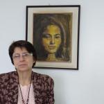 Lucélia Braghini em seu lugar de trabalho no SOS Ação, Mulher e Família, em Campinas (Foto José Pedro Martins)