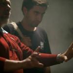 O diretor e roteirista Renato Tapajós grava cena de 'Corte Seco' com o diretor de fotografia Rodolfo Figueiredo, em produção conjunta com o Laboratório Cisco, de Campinas   Fotos: Coraci Ruiz