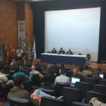 Reunião técnica pública sobre renovação da outorga do Sistema Cantareira, na CATI, em Campinas (Foto José Pedro Martins)