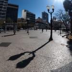 Largo do Rosário, um dos espaços destacados em República de Campinas (Foto Martinho Caires)
