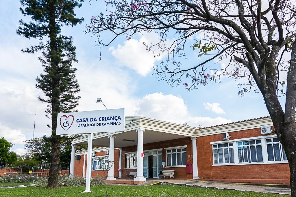 Casa da Criança Paralítica, ícone da ação social em Campinas (Foto Divulgação)