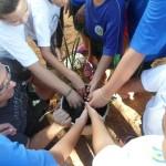 Atividade no Centro Comunitário Jardim Santa Lúcia: história de mobilização (Foto Divulgação)