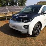 Um dos veículos BMW elétricos incorporados à frota da CPFL Energia (Foto Divulgação)