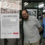Gualberto, idealizador com JAL do HQMIX (Foto Divulgação site HQMIX)