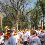 Mais de 500 na quinta edição da Caminhada do Humor (Foto José Pedro Martins)