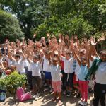 Crianças em uma das ações do programa de educação ambiental do Consórcio PCJ (Foto Consórcio PCJ/Divulgação)
