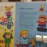 Detalhe da Mostra Humor e Movimento, na programação do Salão Internacional de Piracicaba (Foto José Pedro Martins)