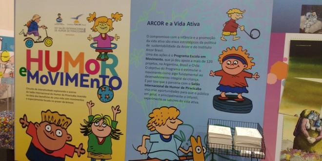 Seminário Internacional Humor e Movimento é atração no Salão de Piracicaba