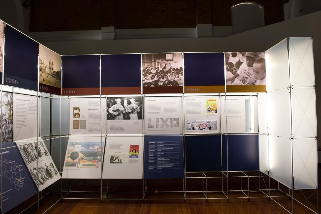 Projeto Estação da Língua  leva o museu itinerante às cidades; mais de 90 mil pessoas já visitaram
