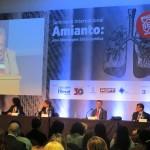 Seminário Internacional em Campinas, que discutiu aspectos sociais e jurídicos do amianto (Foto José Pedro Martins)
