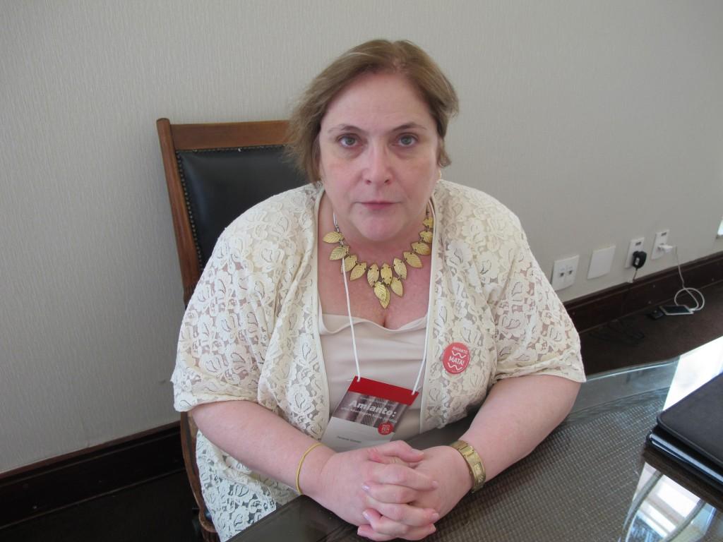 Fernanda Giannasi: tirando a luta dos expostos ao amianto do silêncio (Foto José Pedro Martins)