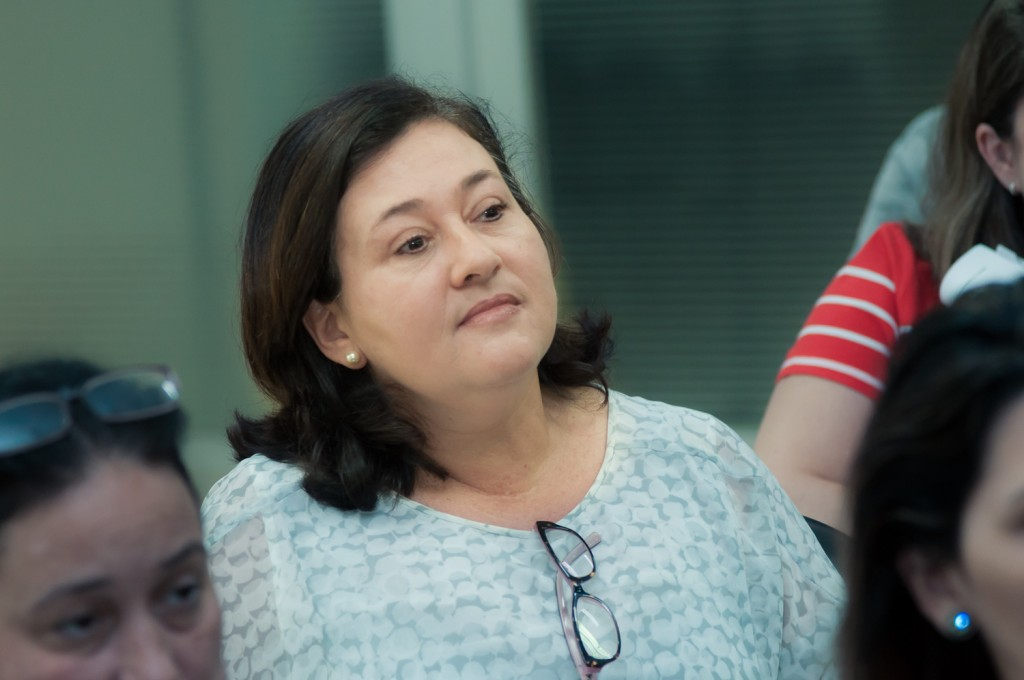 Stella Silva Telles, da Unicamp, levantou os dados sobre Campinas (Foto Martinho Caires)