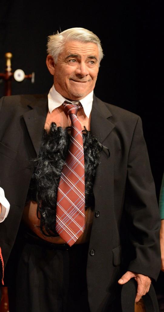 Leris Colombaioni, o popular palhaço Ercolino (Foto Layza Vasconcelos/Divulgação)