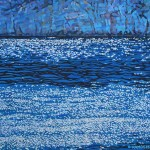 Obra de Geraldo Ramos, como amostra de seu trabalho cheio de cores