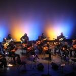 As cores da música brasileira, no talento da Orquestra Filarmônica de Violas (Foto Adriano Rosa)