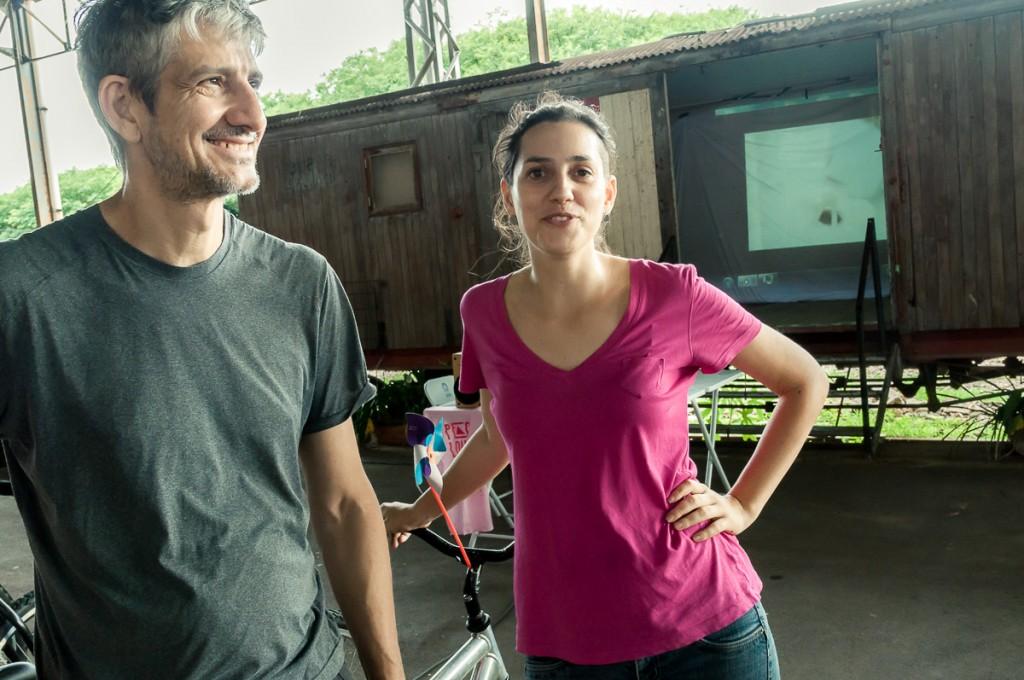 Membros do AroE - Bicicletas Geradoras (Foto Martinho Caires)