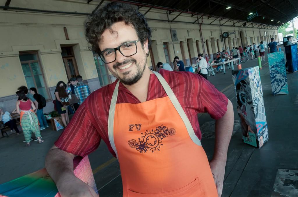 O músico e produtor cultural Guga Costa (Foto Martinho Caires)