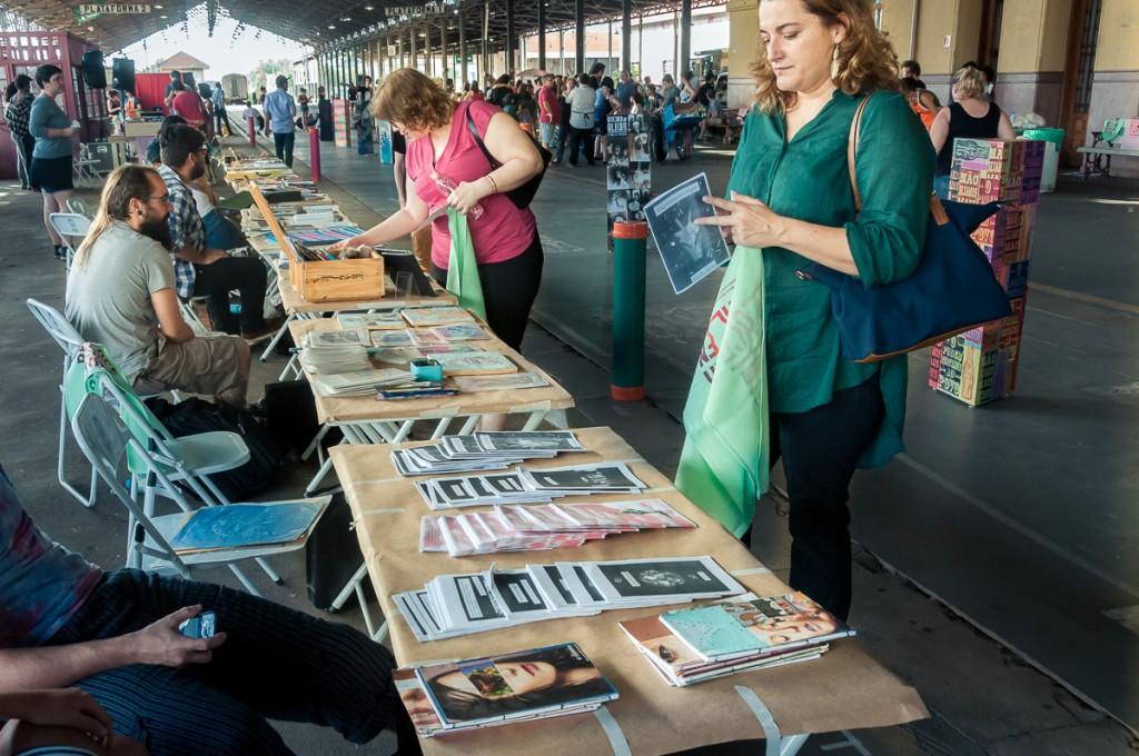 Oito coletivos convidavam o público para a interatividade (Foto Martinho Caires)