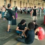 Plataforma da Estação Cultura foi um espelho da sociedade colaborativa e criativa (Foto Martinho Caires)