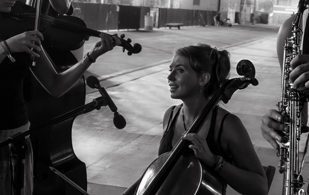 Música, para compor um cenário multilinguagem (Foto Martinho Caires)