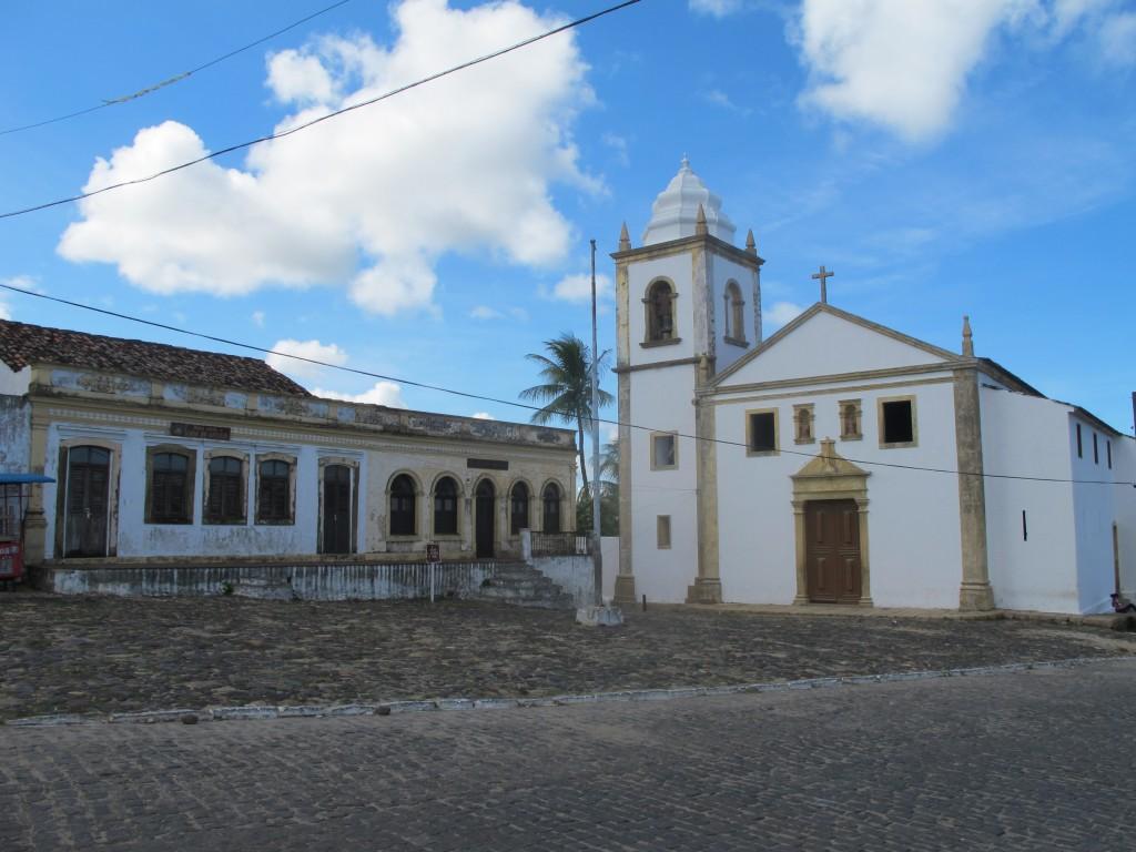 Igreja Matriz de São Cosme e Damião, em Igarassu, PE, considerada a mais antiga Igreja do Brasil: ainda existe um grande potencial turístico a ser explorado no Nordeste (foto Adriano Rosa)