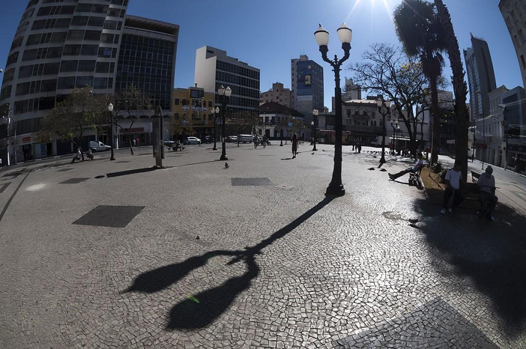 Largo do Rosário, um dos principais espaços de manifestações políticas e culturais de Campinas (Foto Martinho Caires)