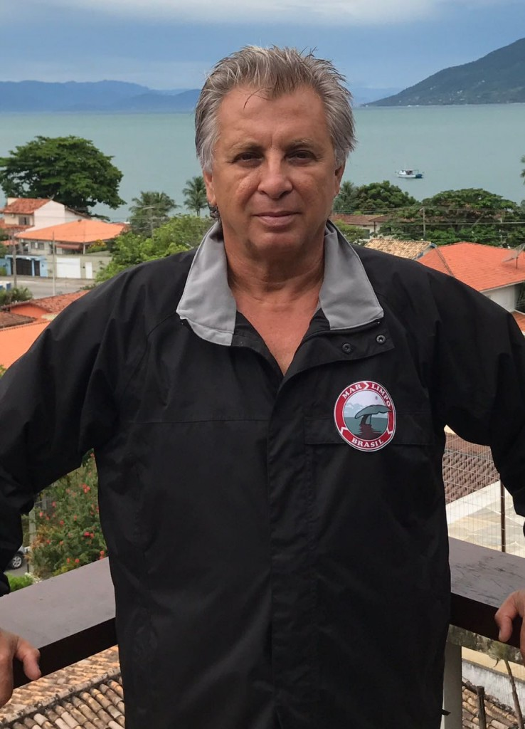 Capitão Cabral, da Mar Limpo: atitude em defesa da vida marinha (Foto Divulgação)