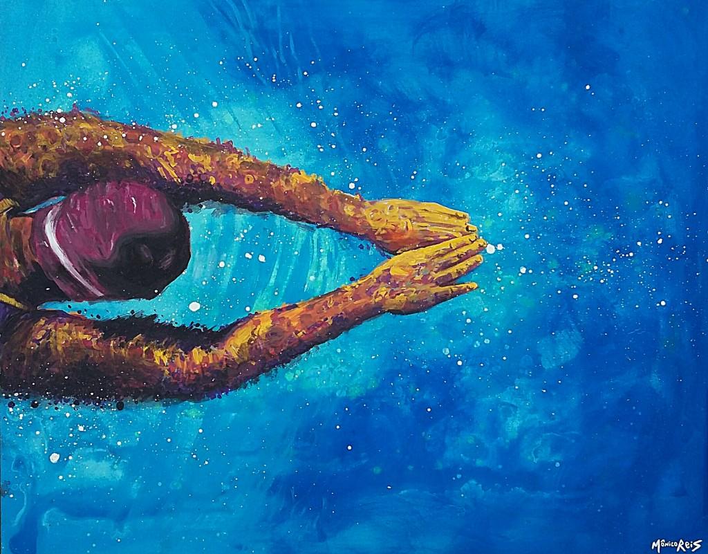 Outro trabalho de Mônico Reis na dupla exposição