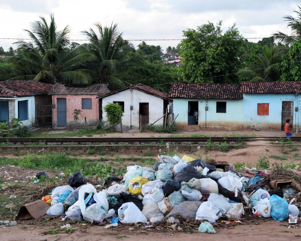 Déficit de saneamento básico é alto no Nordeste (Foto Adriano Rosa)