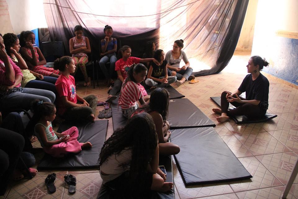 Oficina do projeto Empondera!  Foto: Divulgação/Kora Prince