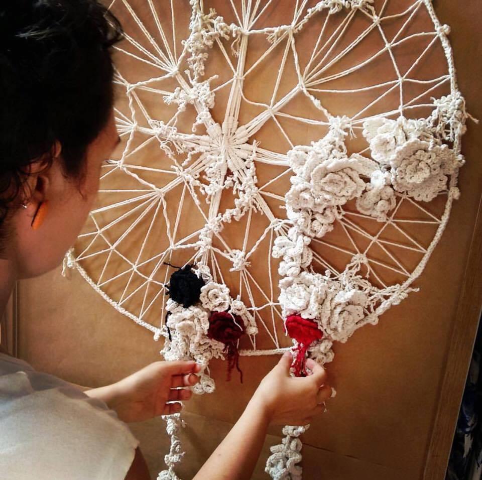 Exposição de Hellen Audrey abre o projeto Fio da Meada (Foto Fabiana Pacola)