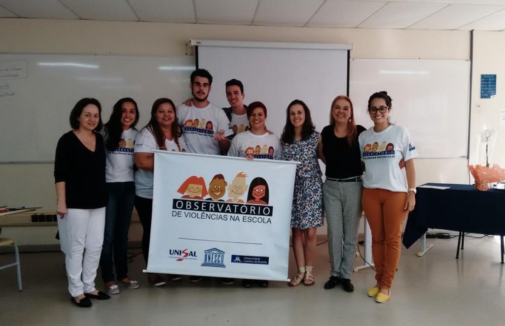 Debate em 2017 sobre ideologia de gênero no Observatório de Violências do Centro UNISAL em Lorena (Foto Divulgação)