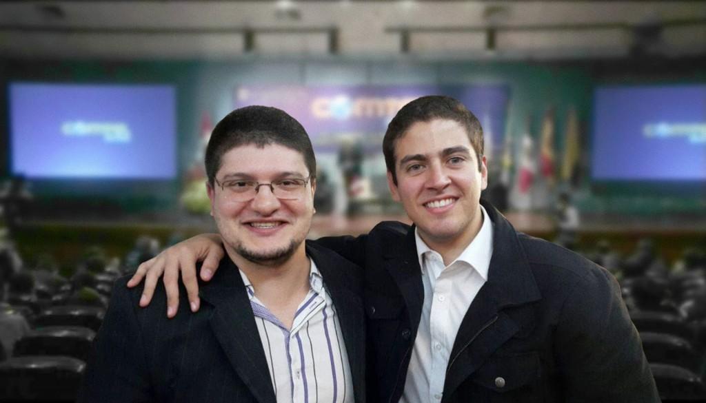 Cícero Moraes e Rodrigo Salazar, parceiros na técnica inovadora (Foto Divulgação)