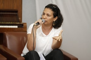 Luciana de Almeida, idealizadora e diretora do portal Campinas.Com.Br (Foto Adriano Rosa)