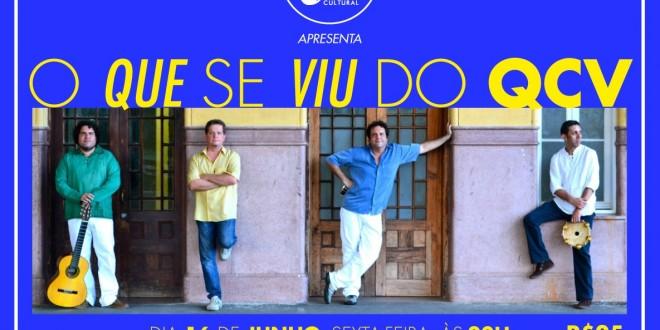 Quarteto de Cordas Vocais neste dia 16 de junho na Rabeca Cultural em Campinas