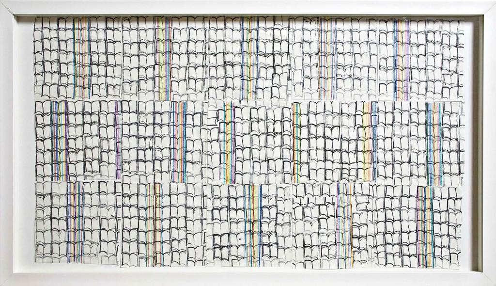 Uma das obras de Adriana da Conceição na Galeria Virtual ASN