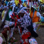 Encontro de ternos de Congo em Olímpia (Foto Antônio Scarpinetti)