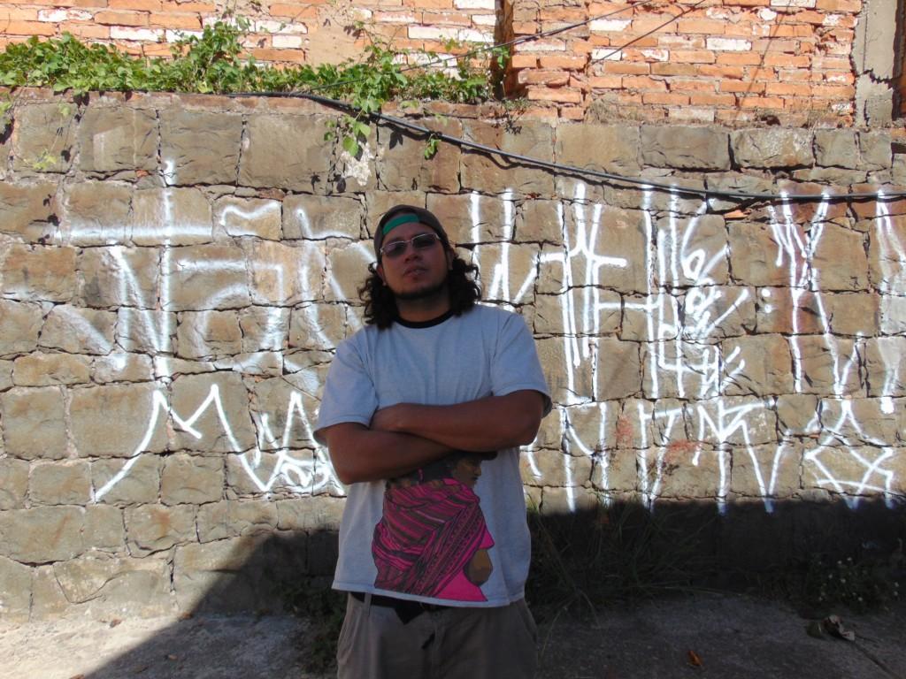 Isaac Herrera, do Equador: contra a cultura hegemônica (Foto José Pedro Martins)
