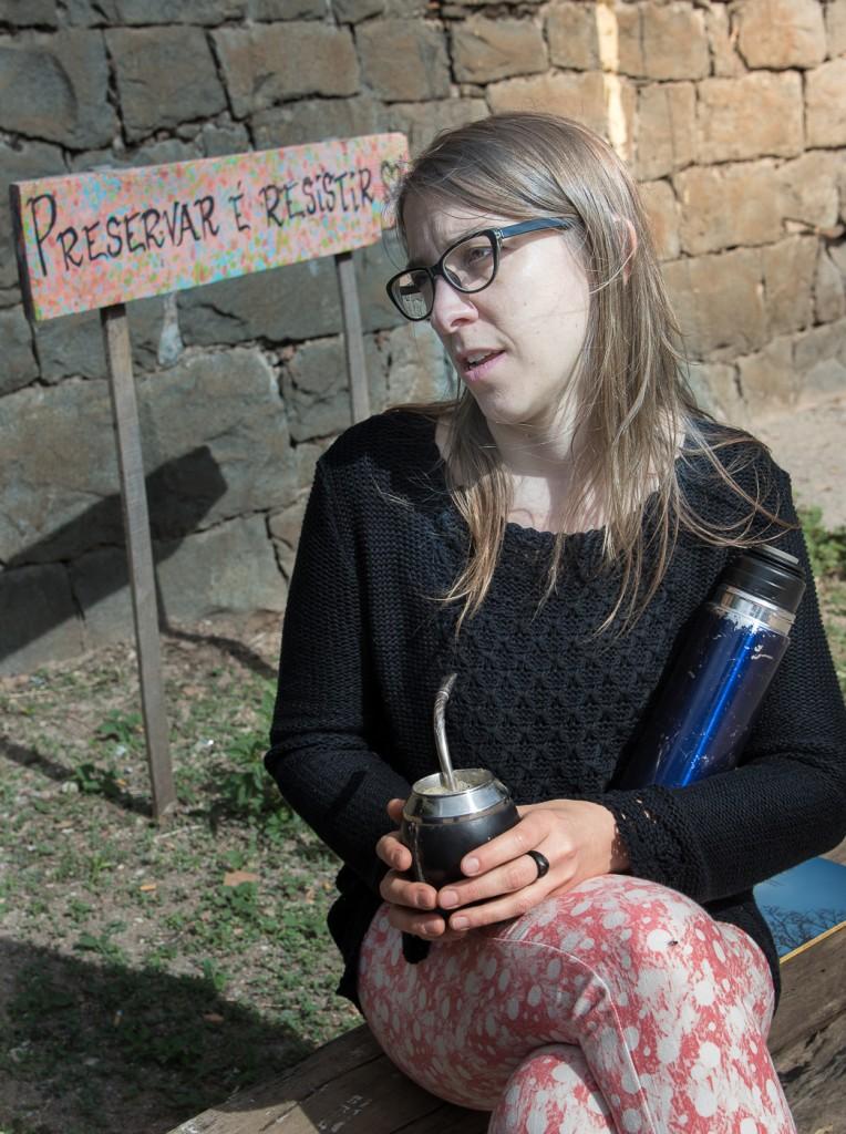 Milagros Lorier, do Uruguai: inspiração em Campinas (Foto Martinho Caires)