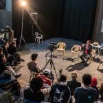 Encontro na Sala dos Toninhos, na Estação Cultura: identidade e trabalho em rede (Foto Martinho Caires)