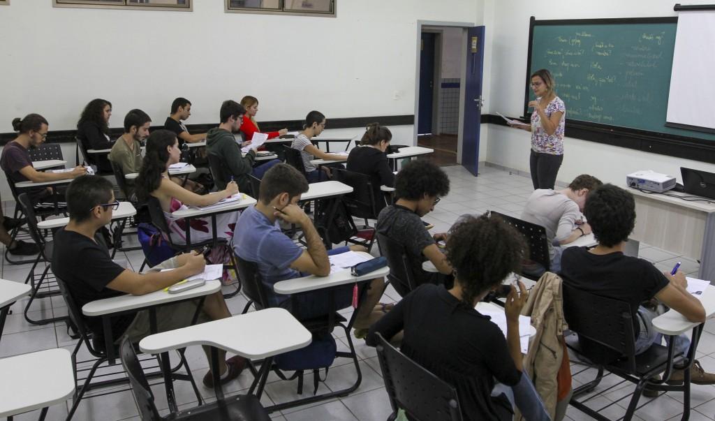 Aulas na UNILA são todas bilíngues, em português e espanhol (Foto Divulgação)