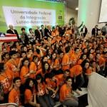 Aula inaugural na UNILA (Foto Divulgação)