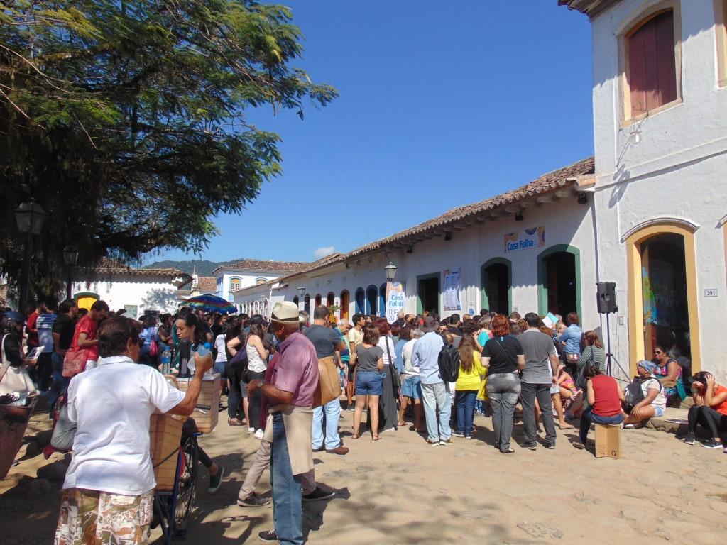 Casa Folha, uma das mais concorridas (Foto José Pedro Martins)