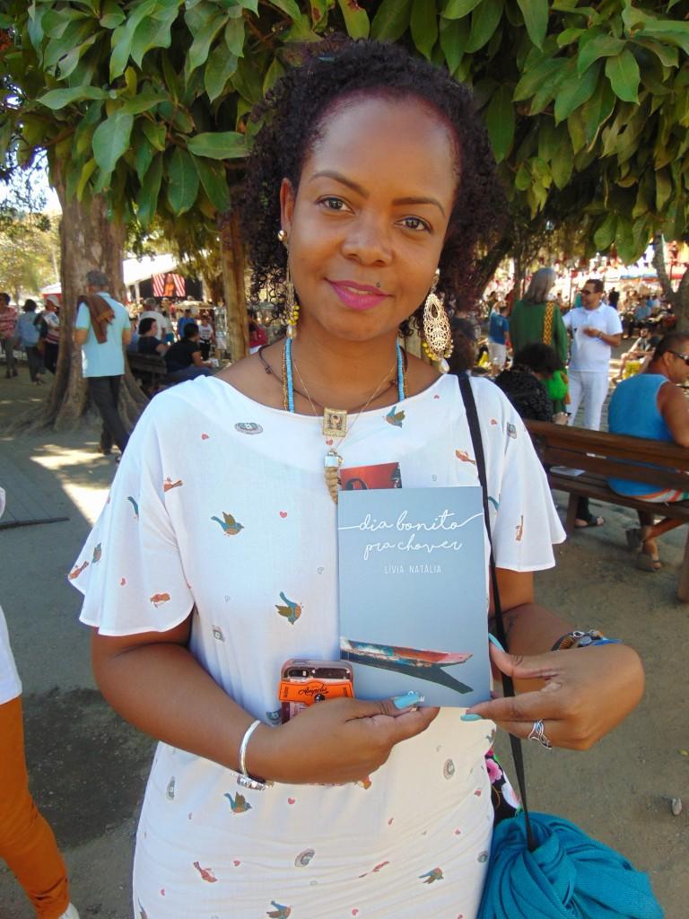Lívia Natália: reflexão sobre a mulher negra no campo dos afetos (Foto José Pedro Martins)
