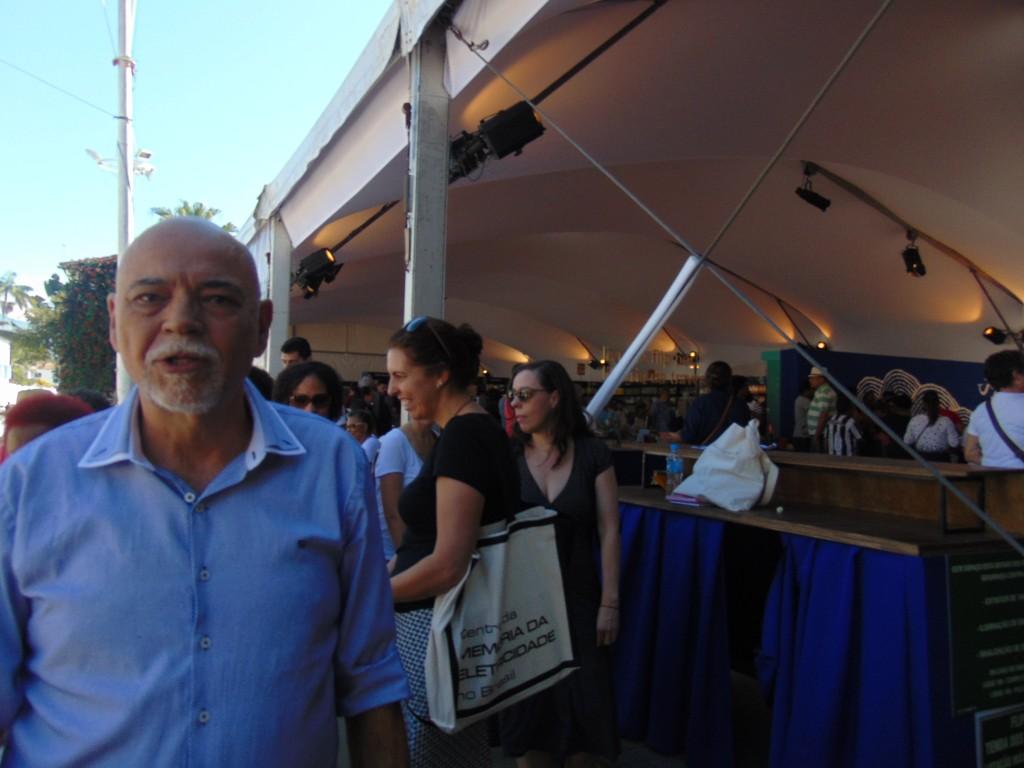 Professor Eduardo de Assis Duarte: literatura afro-brasileira em tem lugar de direito (Foto José Pedro Martins)