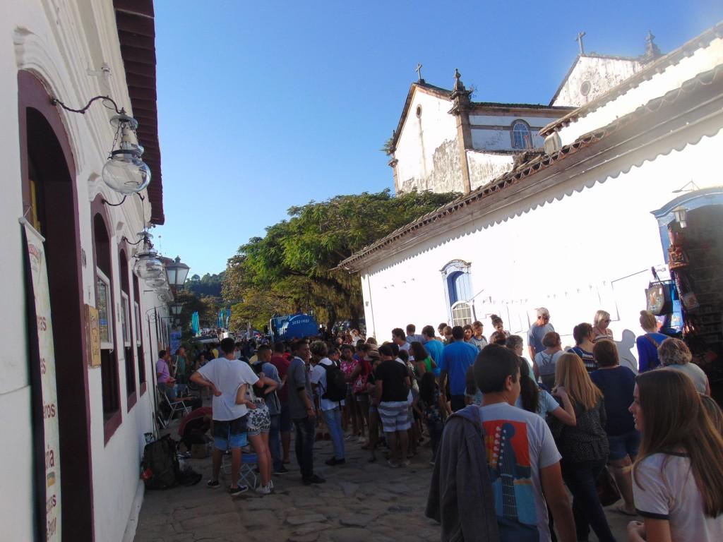 Casario histórico de Paraty: cenário ideal para as caminhadas dos amantes dos livros (Foto José Pedro Martins)