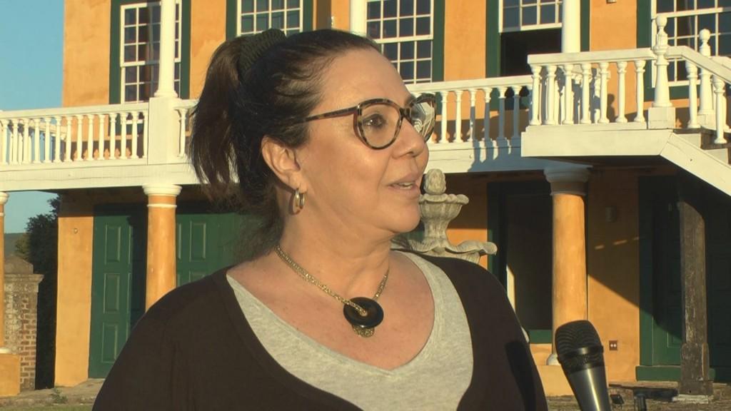 A idealizadora e curadora, Ligia Testa: grande desafio para reunir um grande elenco de artistas (Foto Valdecir Saraiva da Silva)