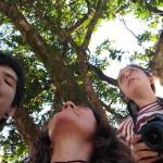 Nicholas, Tina e Julia protagonizam o Ponto Poema (Foto Divulgação)