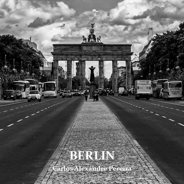 """Detalhe da capa do photozine """"Berlin"""", que será lançado na Feira SUB"""