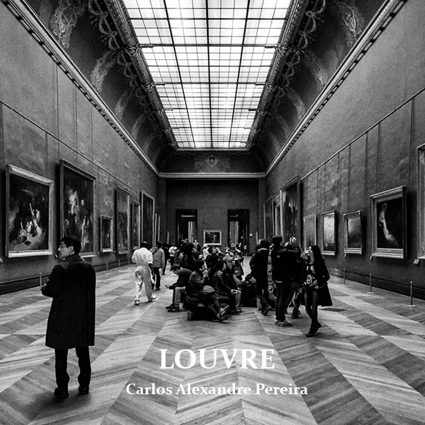 "Capa do photozine ""Louvre"""